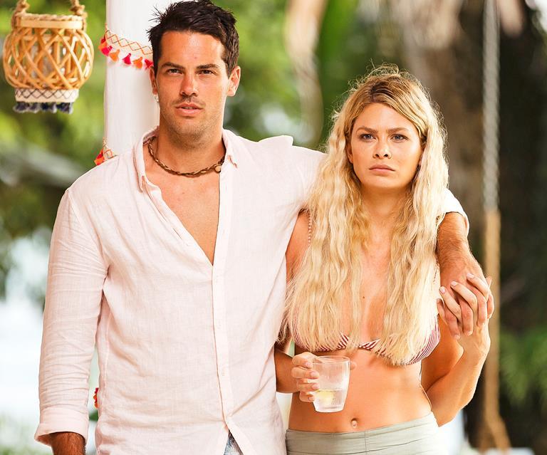 Megan Marx starred in Bachelor in Paradise in 2018, where she met her now-former boyfriend Jake Ellis.Source: Ten.