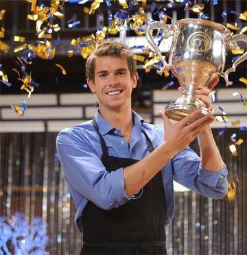 Eamon Sullivan won the inaugural Celebrity MasterChef Australia in 2009. Source: Network Ten.