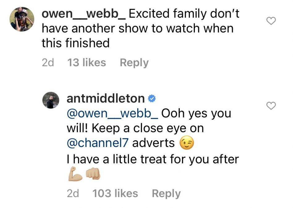"Ant Middleton teased a ""little treat"" for SAS Australia fans. Source: Instagram @antmiddleton."