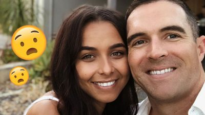 """On the eve of her Bachelorette Australia 2021 debut, Brooke Blurton has been spotted meeting up and """"kissing"""" her ex-boyfriend Nick Power."""