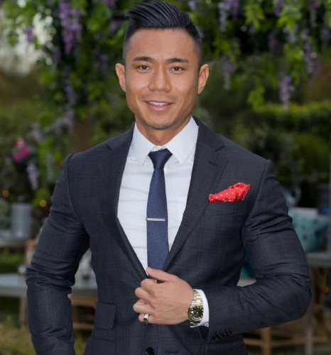 "Carlos Fang spoke about racial ""tokenism"" on The Bachelorette. Source: Network Ten."