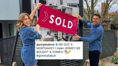 georgia love new house